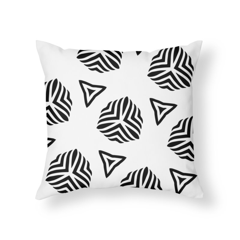 hype Home Throw Pillow by fgfd's Artist Shop