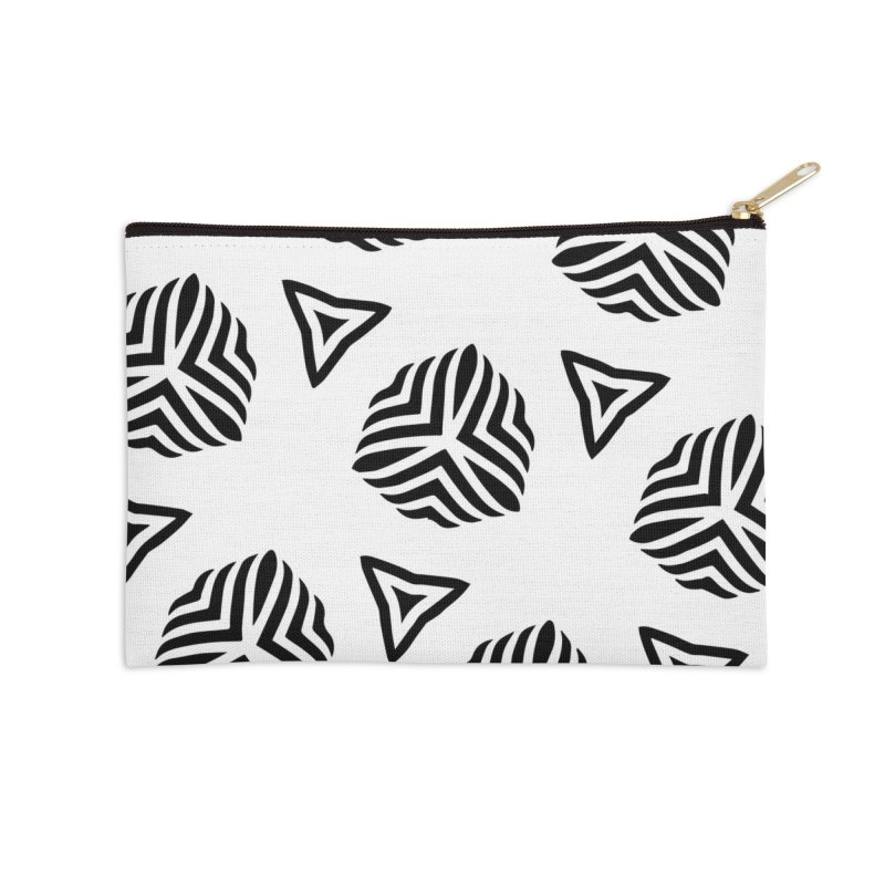 hype Accessories Zip Pouch by fgfd's Artist Shop