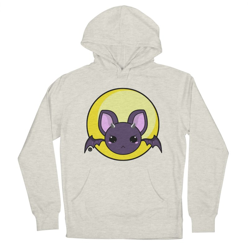 batty Men's Pullover Hoody by Black and White Shop