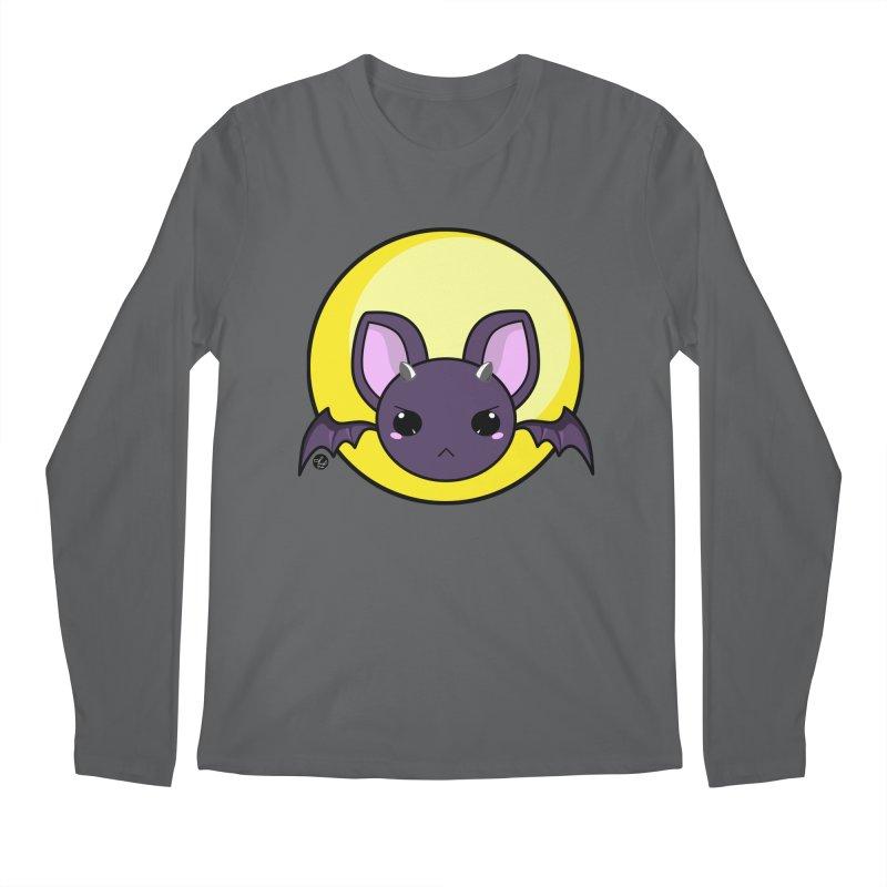 batty Men's Longsleeve T-Shirt by Black and White Shop
