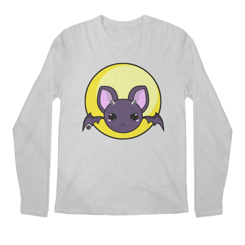 batty Men's Longsleeve T-Shirt by Black and White Shop