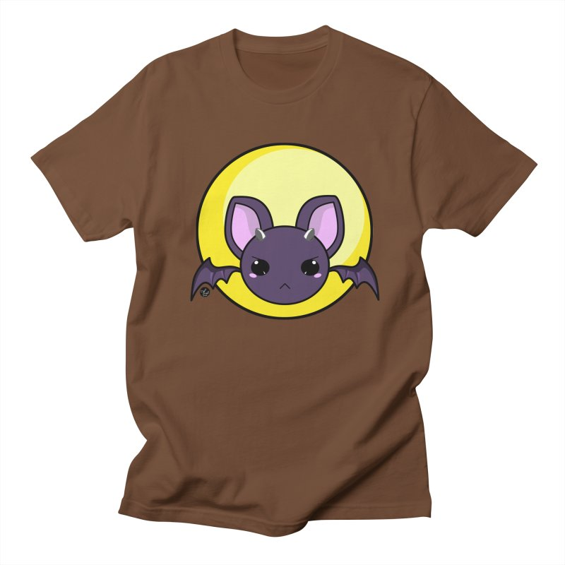 batty Men's T-shirt by Black and White Shop
