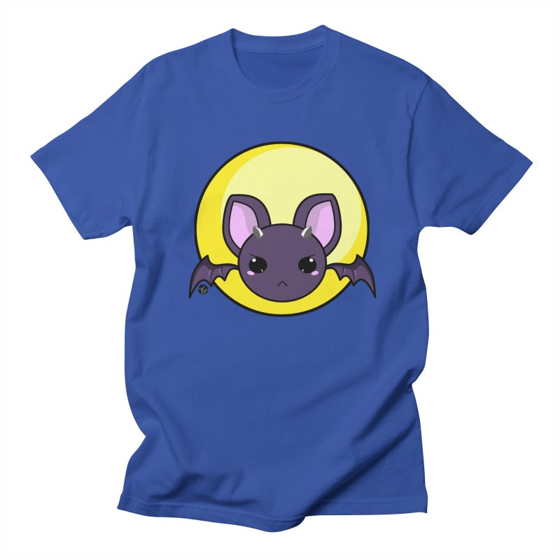 batty Men's Regular T-Shirt by Black and White Shop