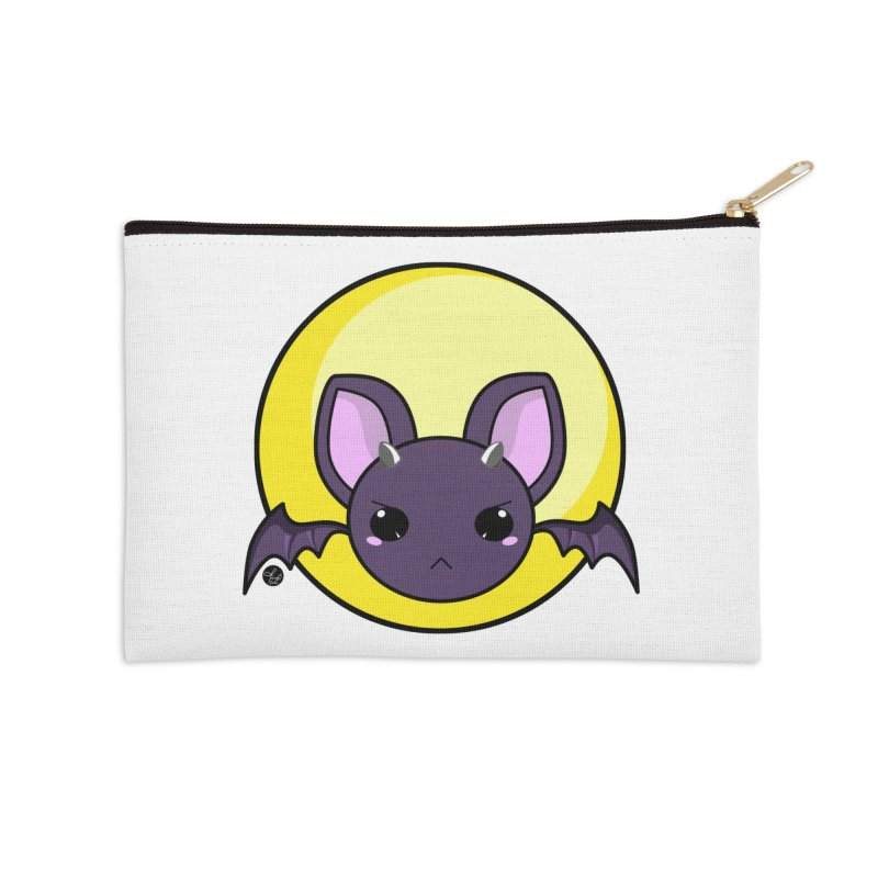 batty Accessories Zip Pouch by Black and White Shop