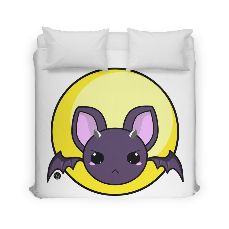 batty Home Duvet by Black and White Shop