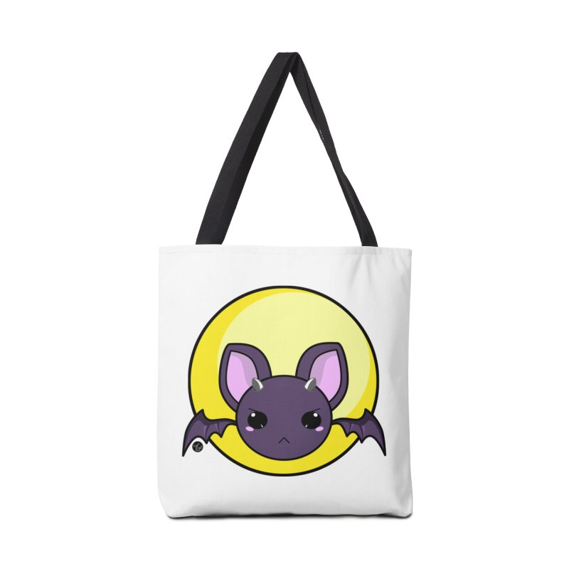batty Accessories Tote Bag Bag by Black and White Shop