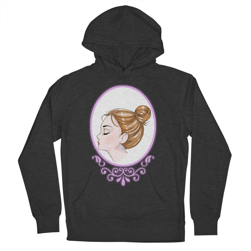 Lady Ornament Women's Pullover Hoody by Black and White Shop