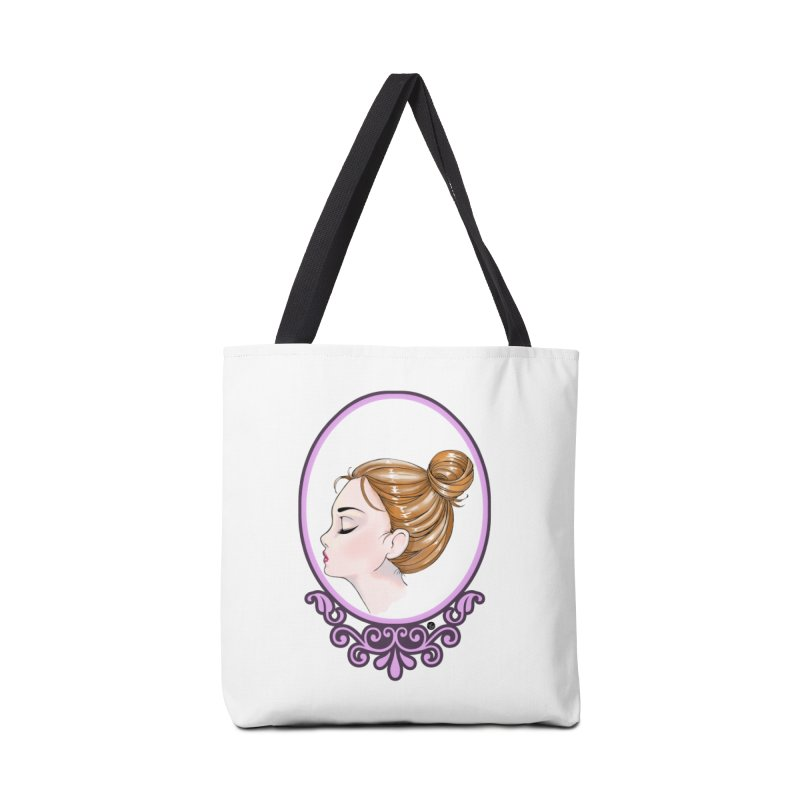 Lady Ornament Accessories Tote Bag Bag by Black and White Shop