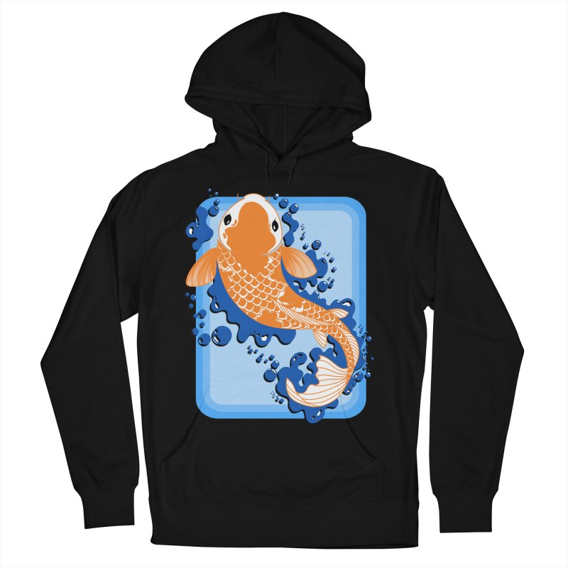 Koi Men's French Terry Pullover Hoody by Black and White Shop