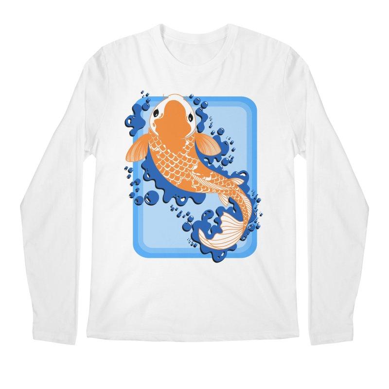 Koi Men's Regular Longsleeve T-Shirt by Black and White Shop