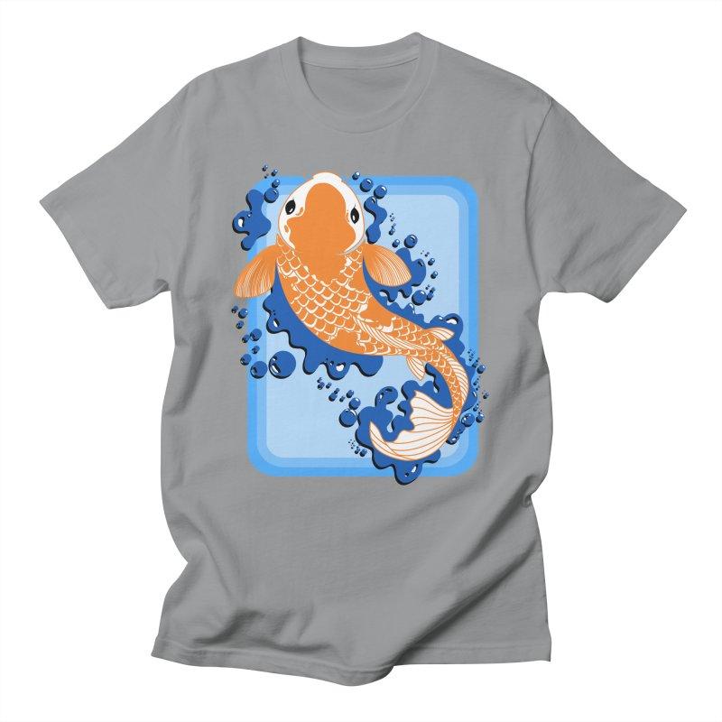 Koi Women's Unisex T-Shirt by Black and White Shop