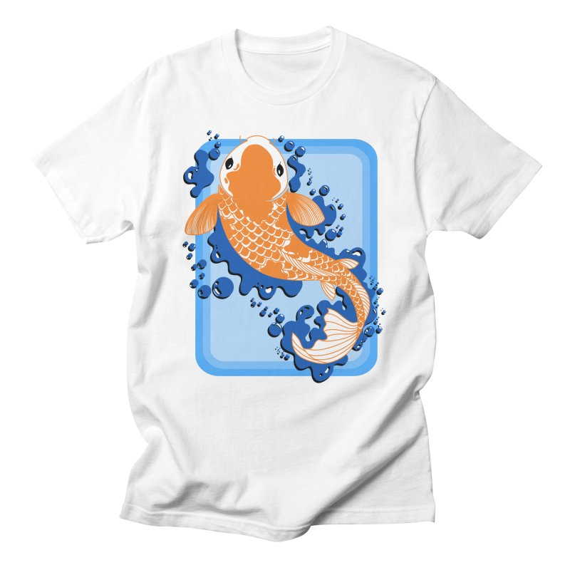 Koi Men's Regular T-Shirt by Black and White Shop