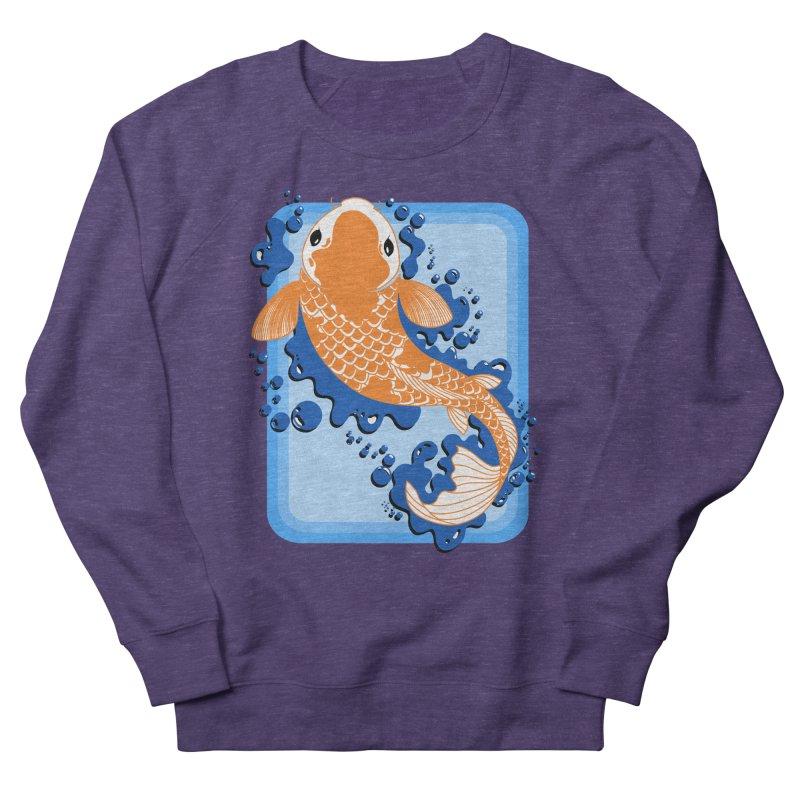 Koi Women's Sweatshirt by Black and White Shop