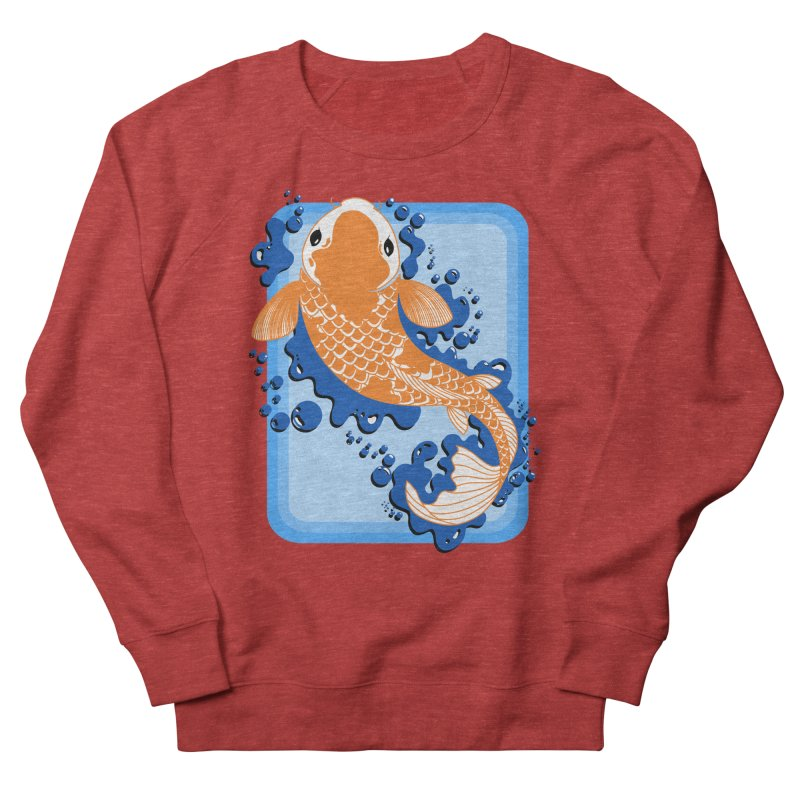 Koi Men's Sweatshirt by Black and White Shop