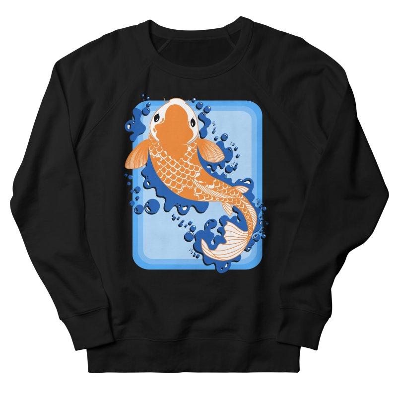 Koi Men's Sweatshirt by Black and White Shop
