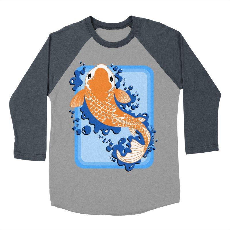 Koi Women's Baseball Triblend Longsleeve T-Shirt by Black and White Shop
