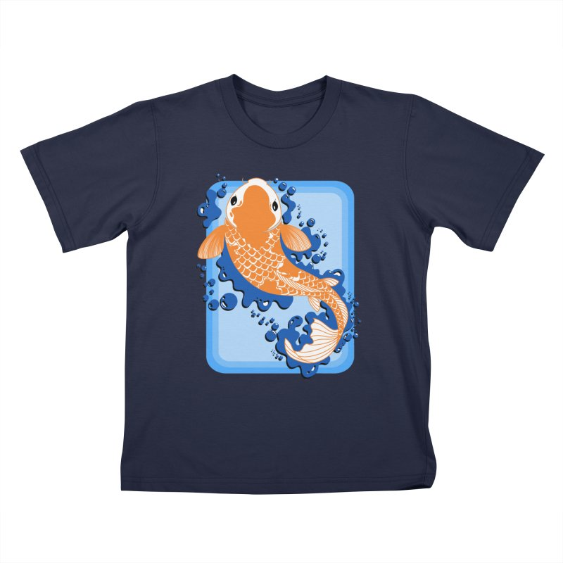 Koi Kids T-Shirt by Black and White Shop