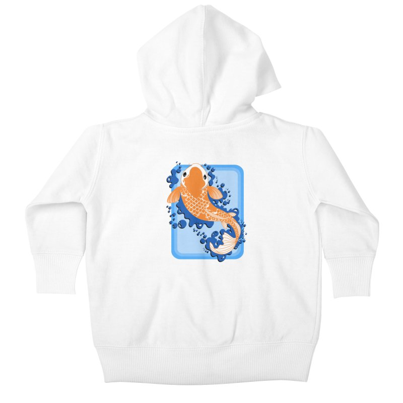 Koi Kids Baby Zip-Up Hoody by Black and White Shop