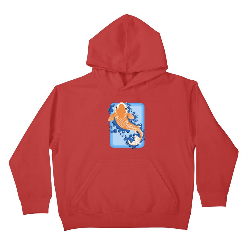 Koi Kids Pullover Hoody by Black and White Shop