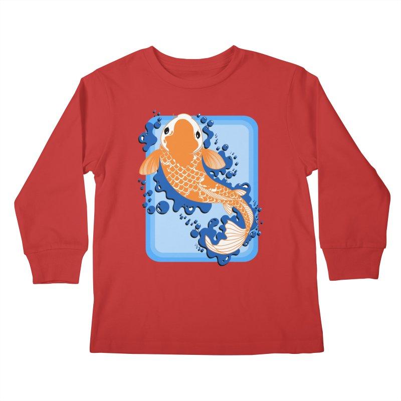 Koi Kids Longsleeve T-Shirt by Black and White Shop