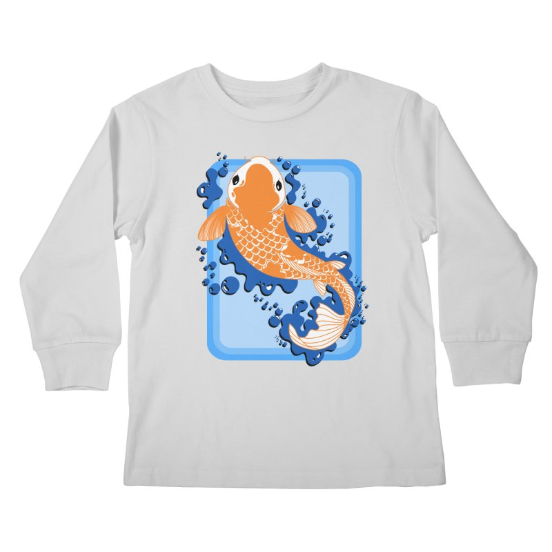 Koi Kids Longsleeve T-Shirt by Black and White Shop