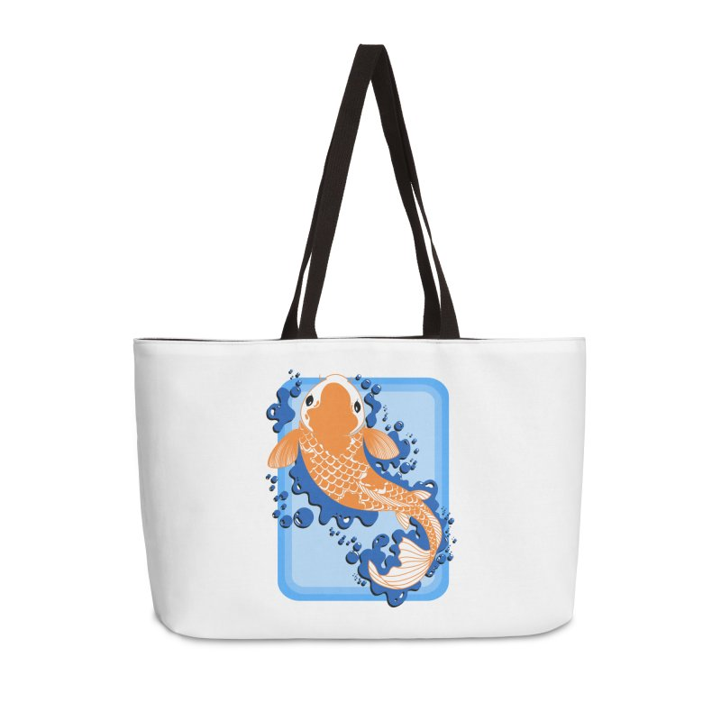 Koi Accessories Weekender Bag Bag by Black and White Shop