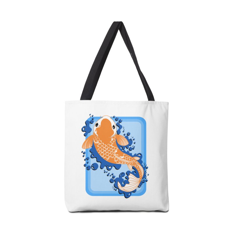 Koi Accessories Tote Bag Bag by Black and White Shop
