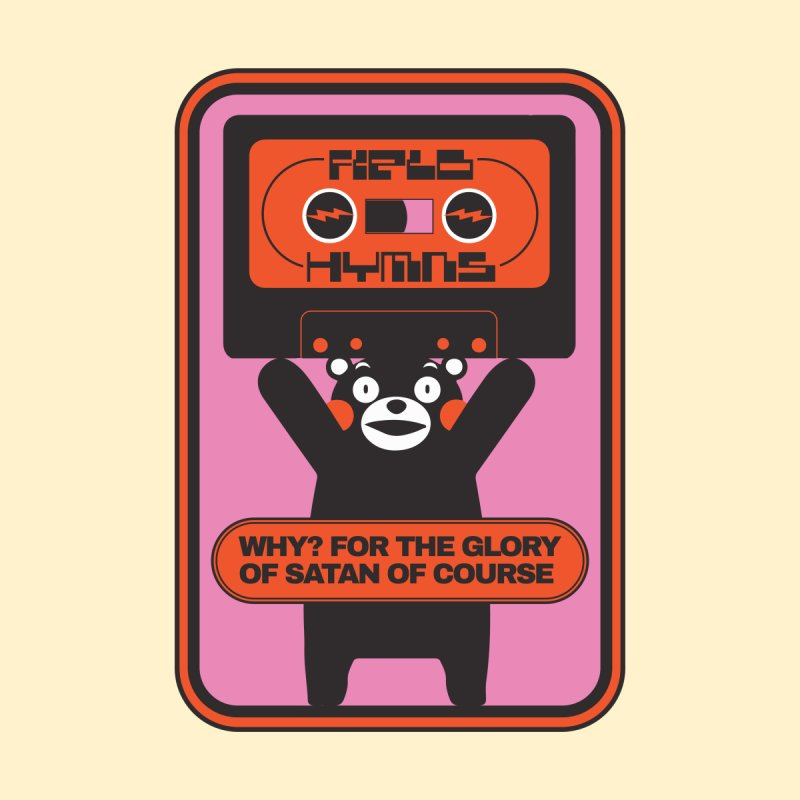 Field Hymns Kumamon Logo #2 by Field Hymns