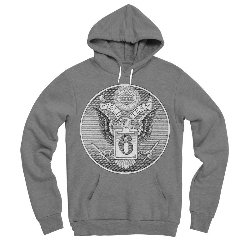 Field Team 6 Logo Gear Women's Sponge Fleece Pullover Hoody by Field Team 6 Store