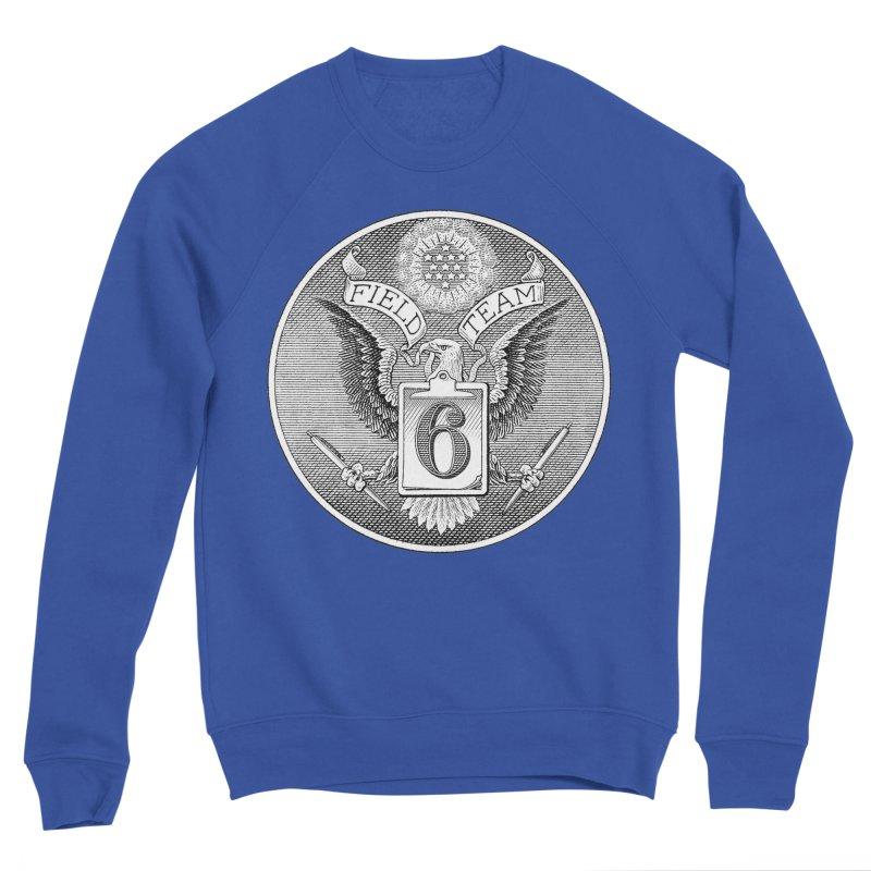 Field Team 6 Logo Gear Men's Sponge Fleece Sweatshirt by Field Team 6 Store