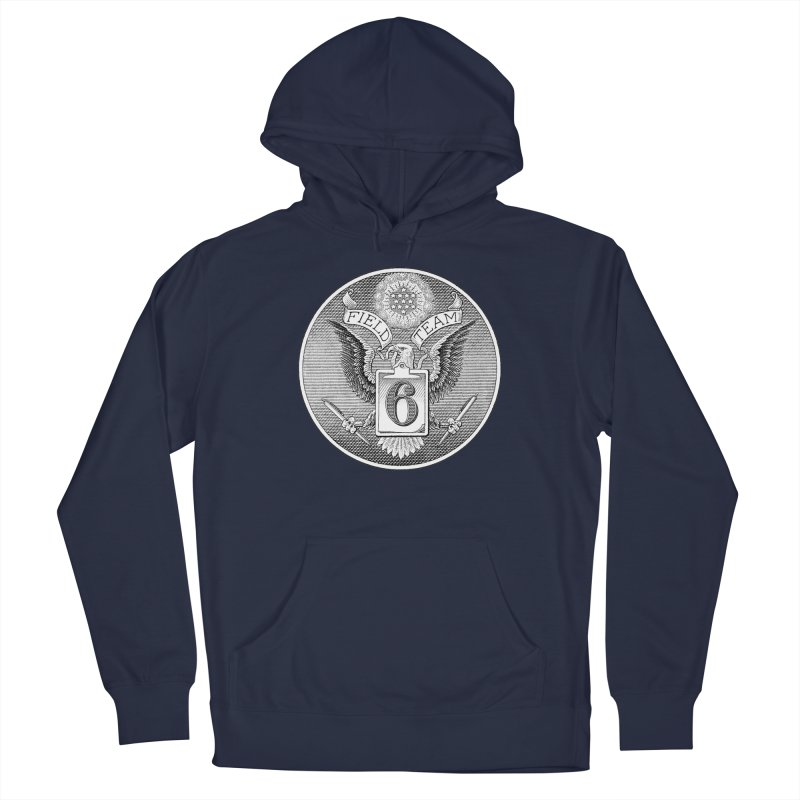 Field Team 6 Logo Gear Men's Pullover Hoody by Field Team 6 Store