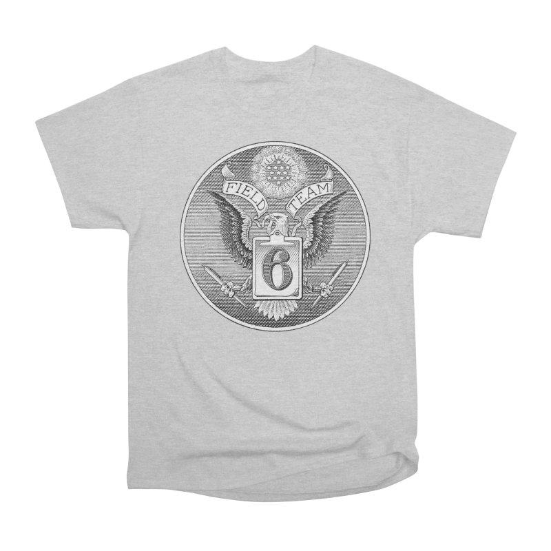Field Team 6 Logo Gear Men's Heavyweight T-Shirt by Field Team 6 Store