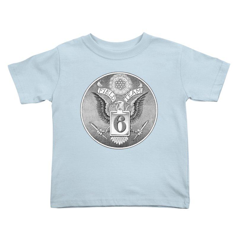 Field Team 6 Logo Gear Kids Toddler T-Shirt by Field Team 6 Store