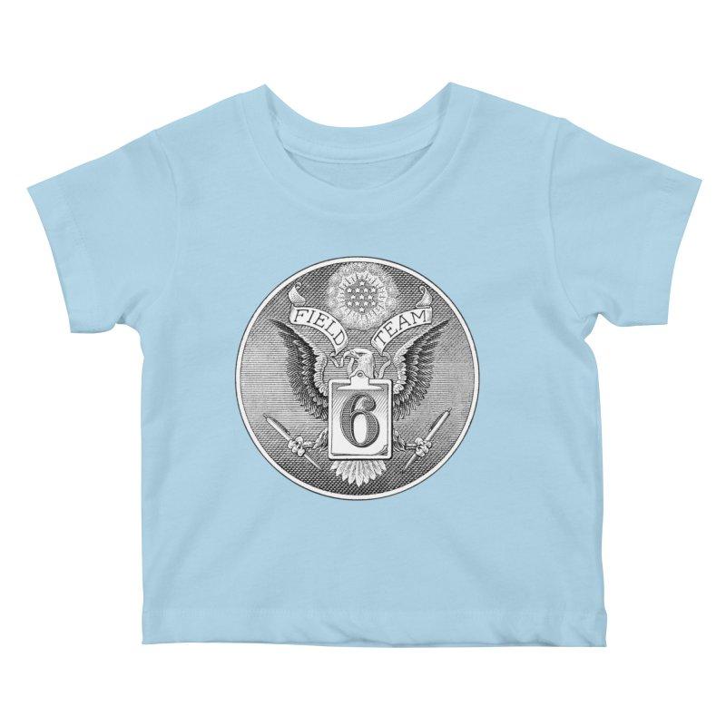 Field Team 6 Logo Gear Kids Baby T-Shirt by Field Team 6 Store