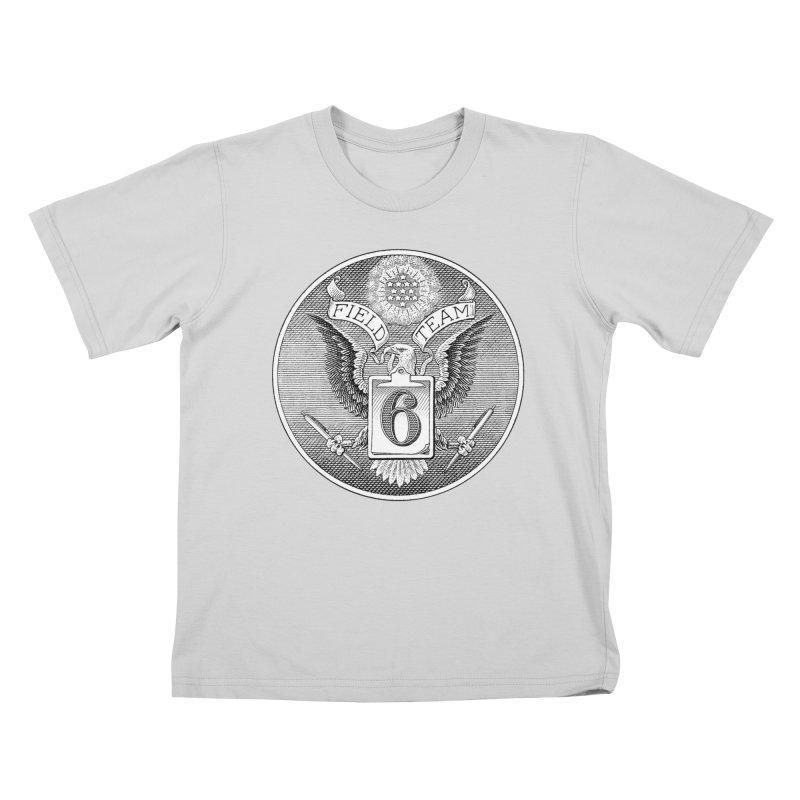 Field Team 6 Logo Gear Kids T-Shirt by Field Team 6 Store