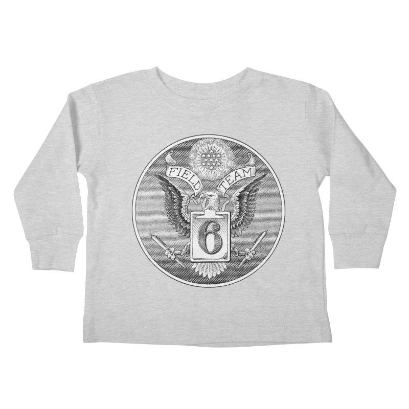 Field Team 6 Logo Gear Kids Toddler Longsleeve T-Shirt by Field Team 6 Store