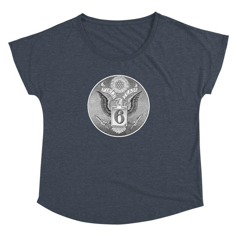 Field Team 6 Logo Gear Women's Dolman Scoop Neck by Field Team 6 Store