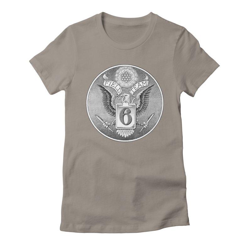 Field Team 6 Logo Gear Women's Fitted T-Shirt by Field Team 6 Store