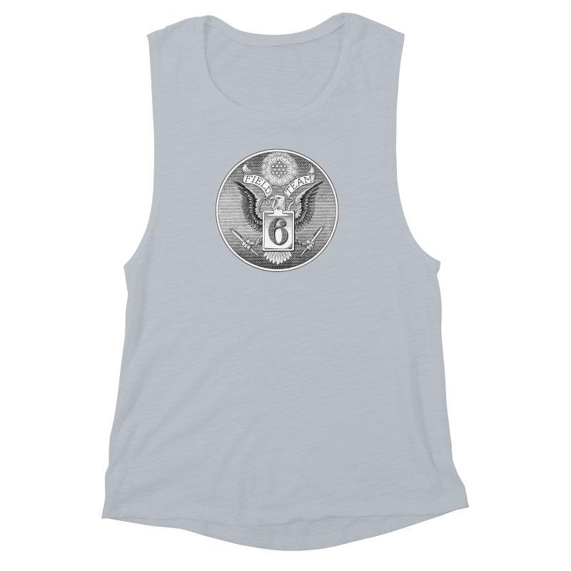 Field Team 6 Logo Gear Women's Muscle Tank by Field Team 6 Store