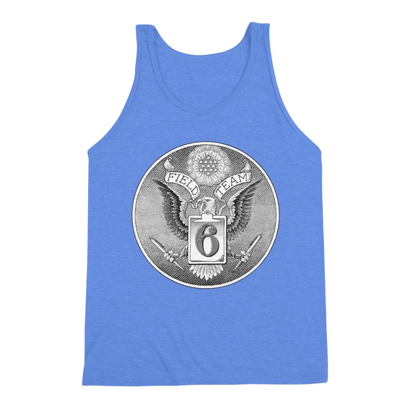 Field Team 6 Logo Gear Men's Triblend Tank by Field Team 6 Store
