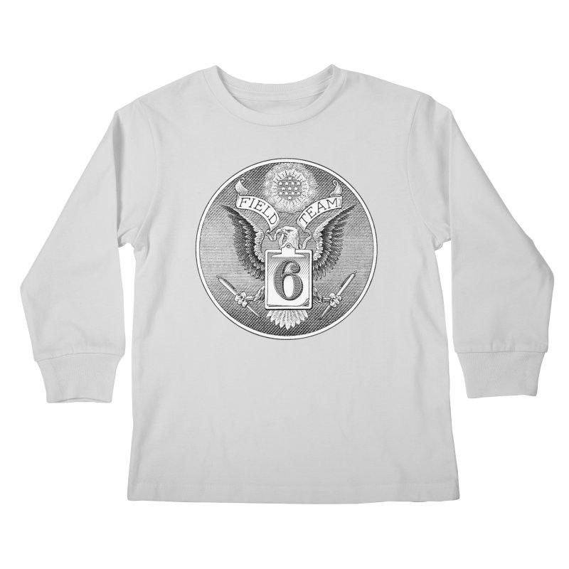 Field Team 6 Logo Gear Kids Longsleeve T-Shirt by Field Team 6 Store