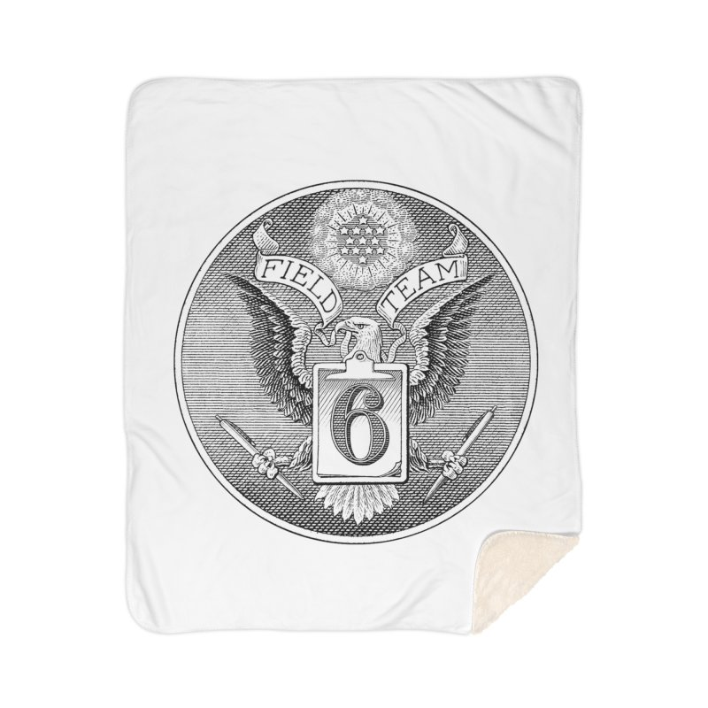 Field Team 6 Logo Gear Home Sherpa Blanket Blanket by Field Team 6 Store