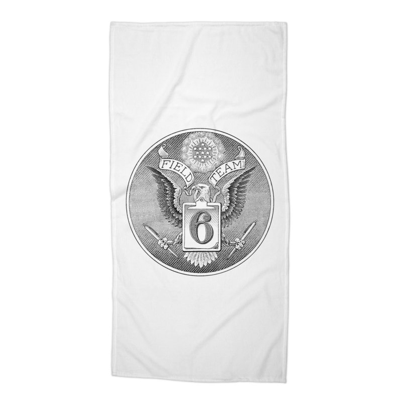 Field Team 6 Logo Gear Accessories Beach Towel by Field Team 6 Store