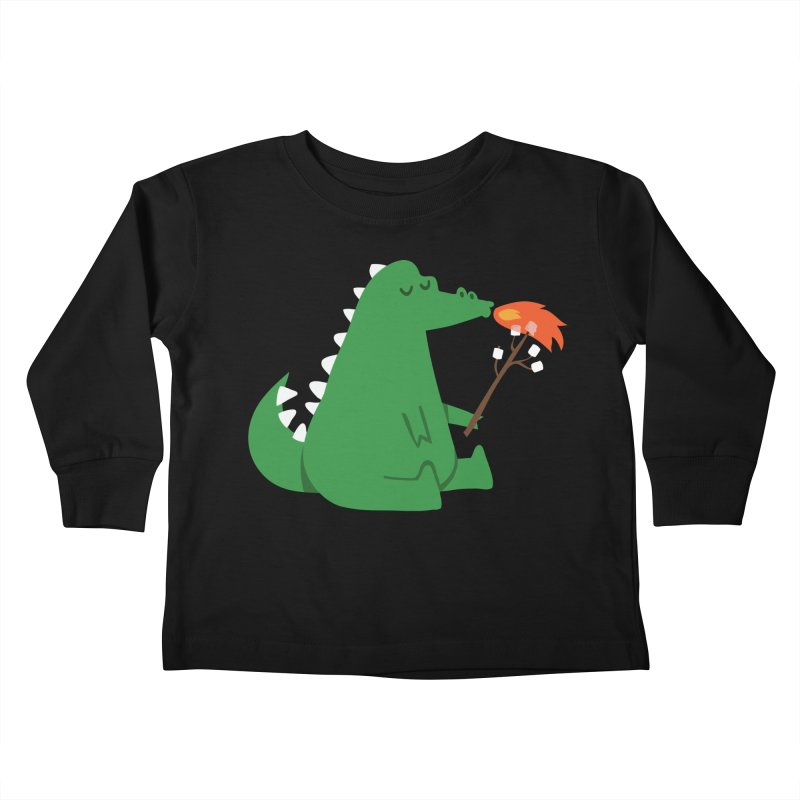 Marshmallow snack Kids Toddler Longsleeve T-Shirt by Trabu - Graphic Art Shop