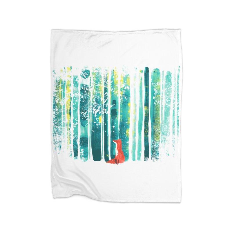 Lone Fox Home Blanket by Trabu - Graphic Art Shop
