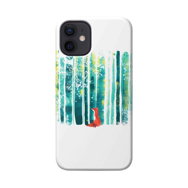 Lone Fox Accessories Phone Case by Trabu - Graphic Art Shop