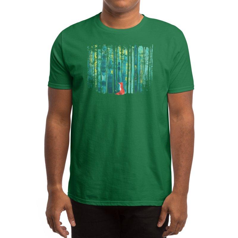 Lone Fox Men's T-Shirt by Trabu - Graphic Art Shop