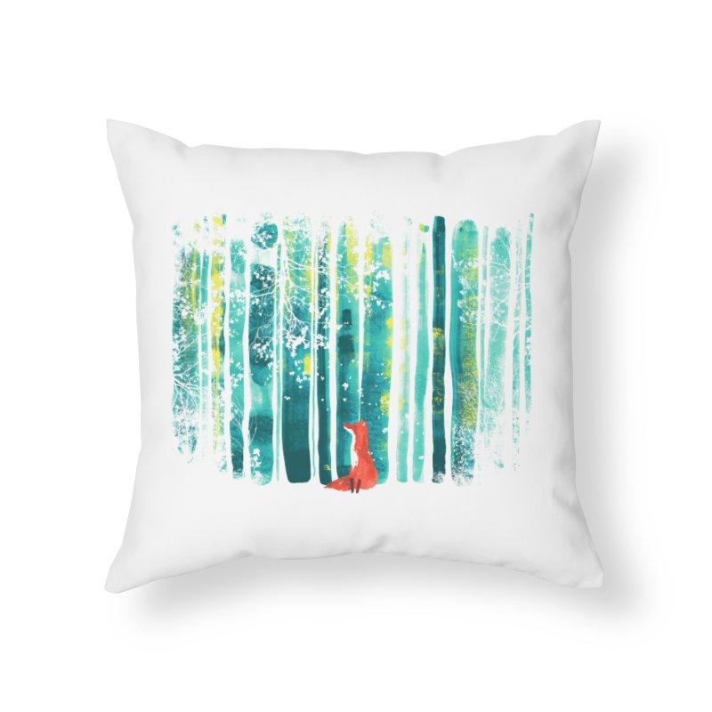 Lone Fox Home Throw Pillow by Trabu - Graphic Art Shop