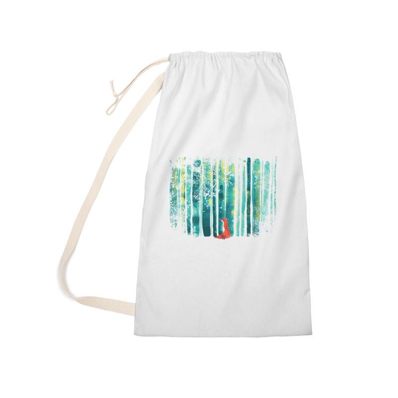 Lone Fox Accessories Bag by Trabu - Graphic Art Shop