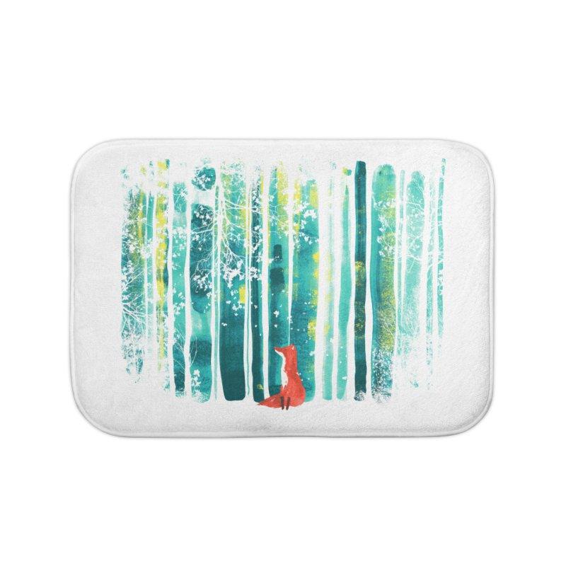 Lone Fox Home Bath Mat by Trabu - Graphic Art Shop